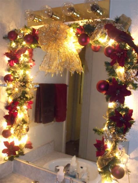 changing seasons easy winter holiday bathroom decor
