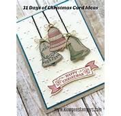 Stampin Up Seasonal Bells  Christmas Cards Pinterest