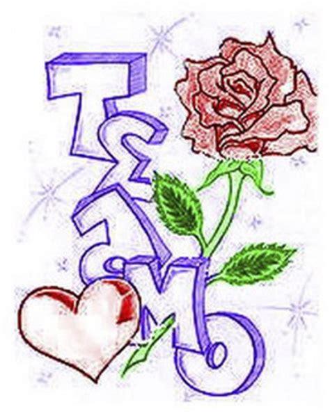 imagenes que digan te amo en graffiti graffitis que digan te amo ricardo