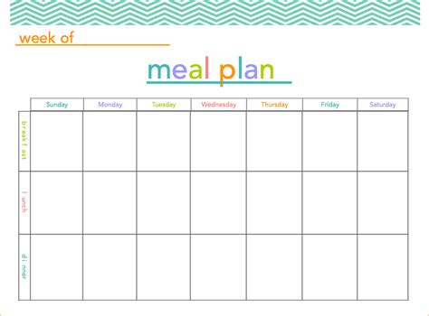diet calendar template 8 printable meal planner academic resume template
