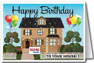 happy birthday to your house real estate card 15300 ministry greetings christian cards