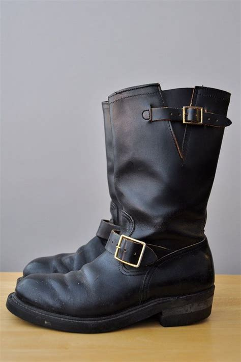 sold hy test womens size 8 motorcycle engineer boots made