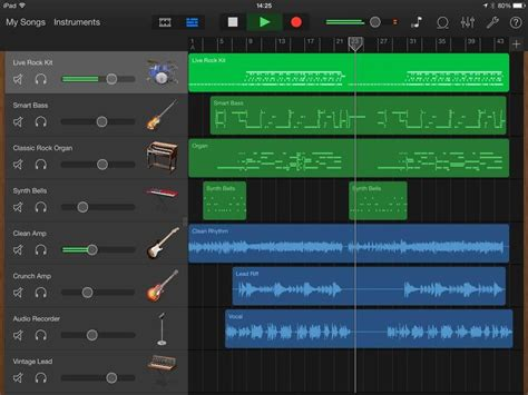 Garageband Track Get To The Editing Features In Garageband For