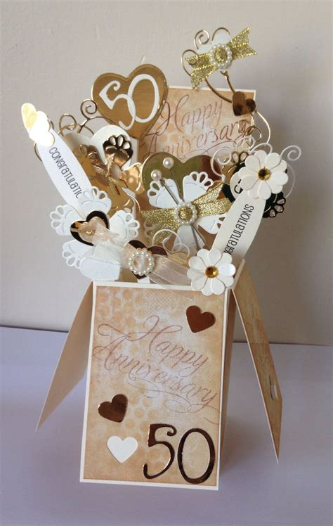 50th Wedding Anniversary Card Ideas by 753 Best Pop Up Box Cards Images On Card Boxes