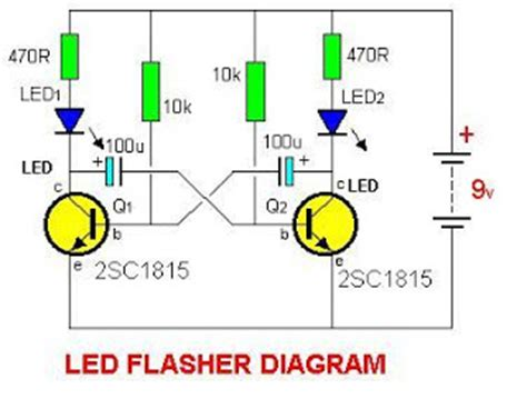 capacitor led flasher resistor capacitor led flasher 28 images 17 best ideas about circuit diagram on electrical