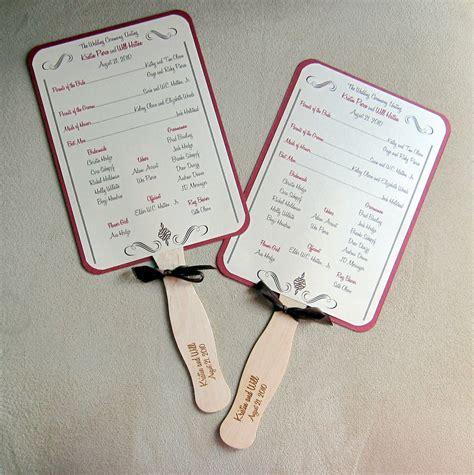 wedding program fans cheap amazing templates for wedding programs embellishment