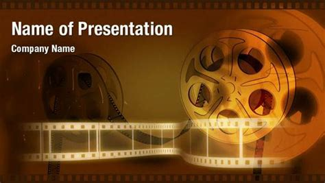 movie strip powerpoint video templates powerpoint video