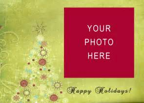 free holiday photo cards templates