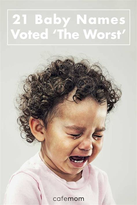 baby names voted  worst