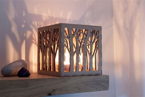 construction paper tree lit with tea light 1000 ideas about tea light lanterns on tea lights tea light holder and