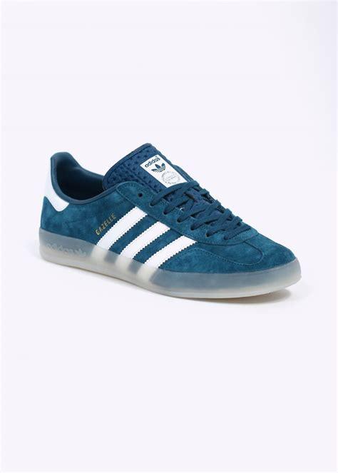 adidas gazelle indoor adidas originals gazelle indoor trainers tribal blue