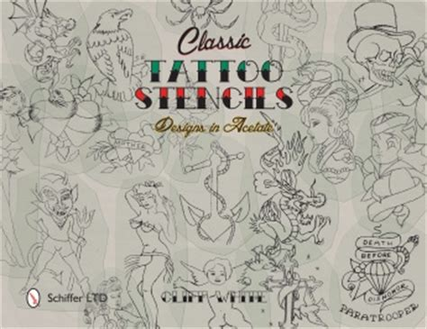 classic tattoo stencils designs in acetate 99 99