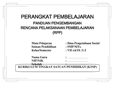Intisari Ips Smp Kelas 789 rpp silabus ips smp kelas 7 8 9 ktsp semester i dan ii