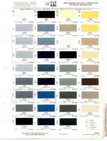 Buick Paint Codes Paint Chips 1985 Gm Buick