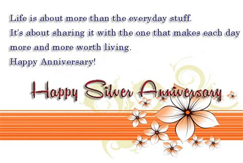 silver jubilee wedding anniversary quotes 25th anniversary wishes