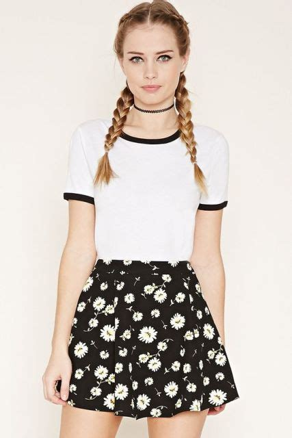 Dress Ropa Floral 21 Midi Dress Hitam 20 girlish with skater skirts to repeat styleoholic