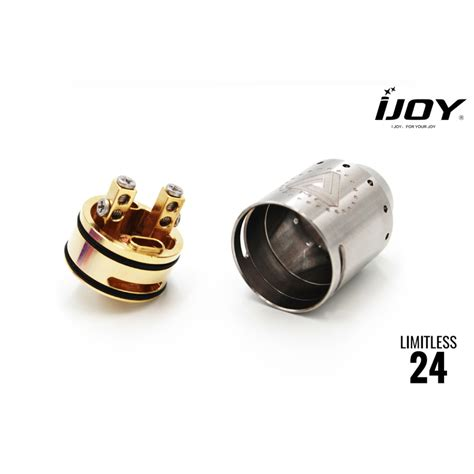 Limitless 24 Rda Authentic buy authentic ijoy limitless 24 rda atomizer cheap in stock with free shipping