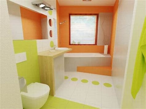 Orange Bathroom Decorating Ideas Interior Design Orange Bathroom Ideas