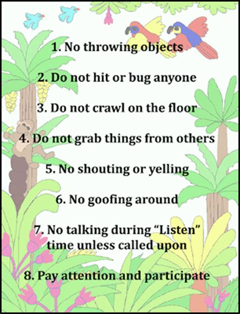 Design Your Own Eco Home by Sunday Printable Resources Classroom Rules Poster