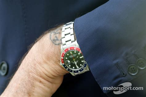 The watch and tatoo of Luca di Montezemolo, Scuderia