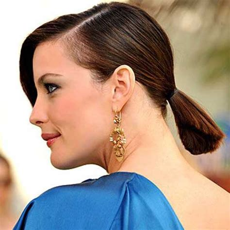 hair for straight hair a big nose 10 cute ponytails for short hair short hairstyles 2016