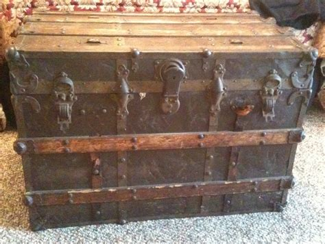 corbin cabinet lock co old steamer trunk collectors weekly