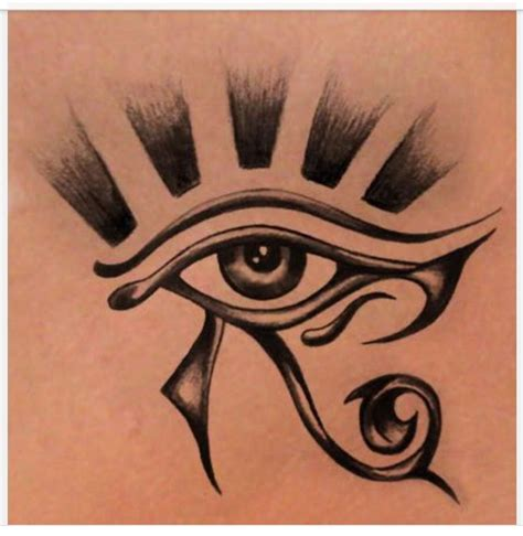 egyptian eye tattoo designs eye or ra horus sleeve tattoos eye