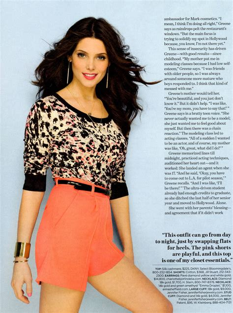 ashley greene magazine cover ashley greene on cover of march 2012 lucky magazine