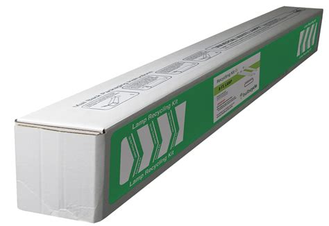 fluorescent l recycling boxes 8ft fluorescent l jumbo recycling box holds 25 t12 or