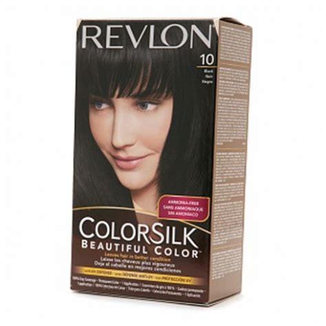Revlon Colorsilk 10 Black 320910 revlon colorsilk hair color dye black 10 hair color