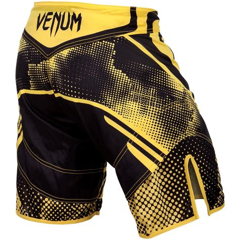 Venum Technical Mma Fightshorts Black Yellow Venum Technical Mma Broekje Fight Black Yellow