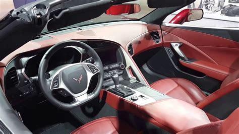 corvette stingray interior 2016 chevrolet corvette stingray convertible interior