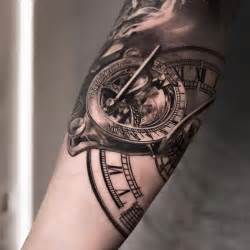 sundial amp clock tattoo best tattoo ideas amp designs