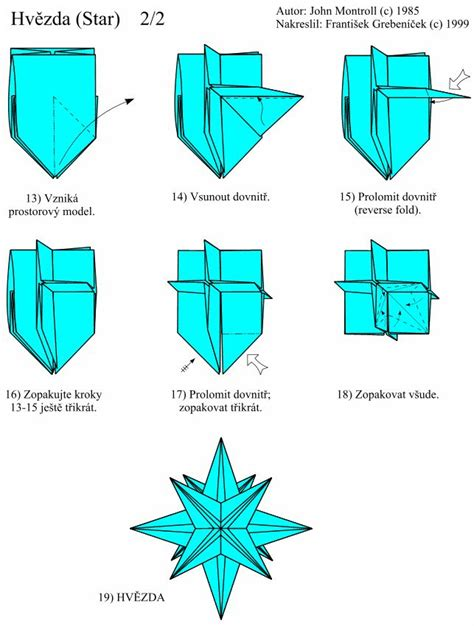 Montroll Origami Pdf - 25 best ideas about origami estrela on