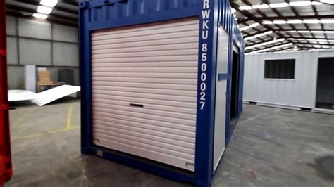 Single Car Garage pop up event kiosk portable shipping containers for