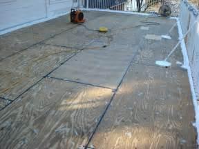 epoxy floor coatings second story balcony waterproofing