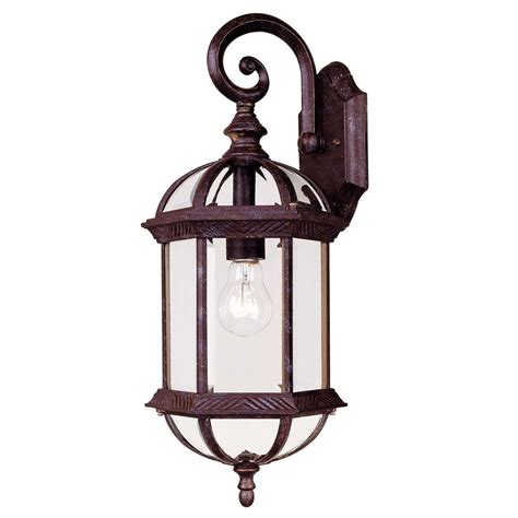 Rustic Outdoor Wall Lighting Savoy House Rustic Bronze Outdoor Wall Light 5 0630 72 Destination Lighting