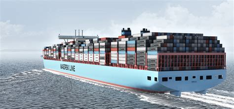 biggest sea vessel in the world largest container ship to call north europe arrives at