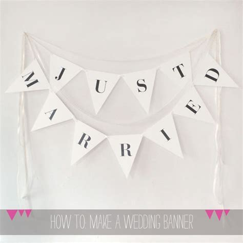 Wedding Banner by How To Free Downloadable Wedding Banner From A Printable