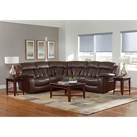 northshore sofa standard furniture north shore reclining sectional sofa