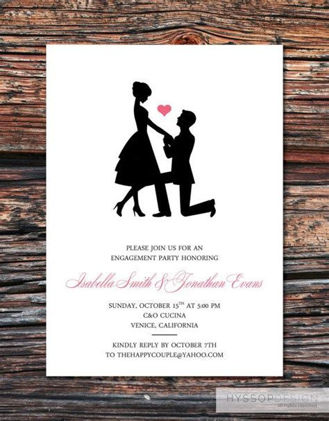 17 best ideas about engagement party invitations on