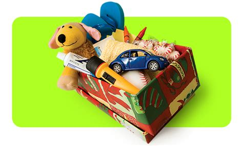 shoebox filler items