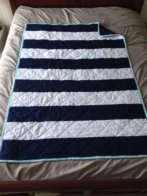 Navy And White Crib Bedding Custom Baby Bedding Crib Set Navy White Aqua By