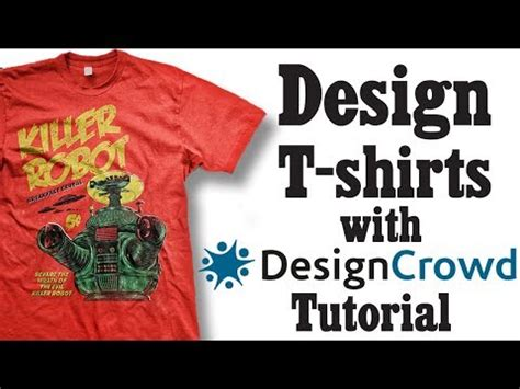 designcrowd youtube how to design t shirts with designcrowd youtube
