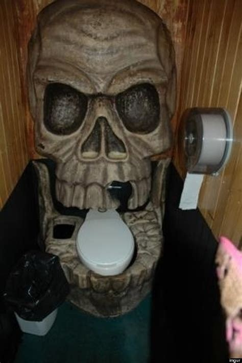 skull bathroom skull toilet shark urinal are pretty cool actually what
