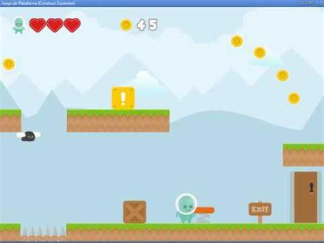 tutorial construct 2 juego plataformas juego plataformas hecho en construct 2 a 250 n en desarrollo