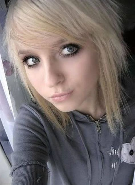 blonde emo haircuts 67 emo hairstyles for girls i bet you haven t seen before