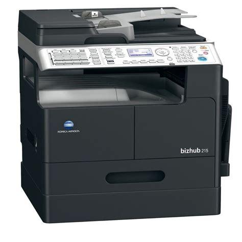 Printer Konica Minolta konica minolta bizhub 215 monochrome multifunction printer copierguide
