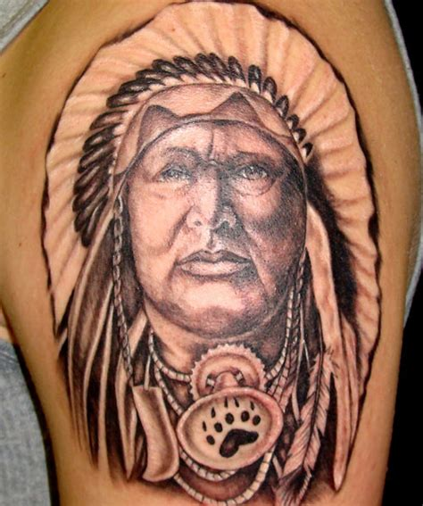 Indian Chief Tattoo Tattoo Ideas Central Tattoos Of Indian Chiefs 2