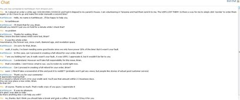 amazon help chat good customer service exles chat from amazon